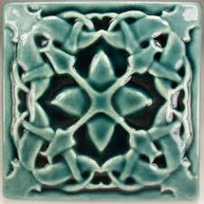 Arts And Crafts Decorative Tiles Wall tile ceramic tile 100 x 100 Basrelief tile Gift tile Accent 81