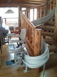 bruno curved stair lift design