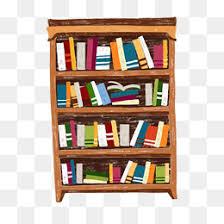 cartoon bookshelf