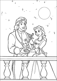 Beauty and the beast is a novel liked by everyone. The Beauty And The Beast For Children The Beauty And The Beast Kids Coloring Pages