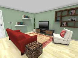 E Small Room Ideas  Living Room Furniture Layout With Decorative Wall Shelves