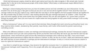 on homosexuality essay on homosexuality