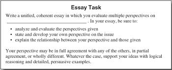 Act Essay Examples Act Essay Writing Tips High School Test Prep