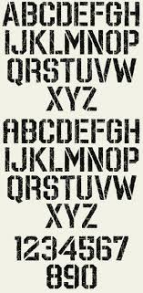 Stencil Fonts Distressed Distressed Font Lettering Block Letter Fonts