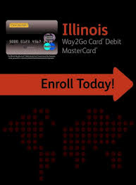 I can see in my connect account that there was payment issued on may 17 on a way2go debit card, but no information about. Illinois Ilsdu Illinois Way2go Card Debit Mastercard The Illinois Way2go Card Debit