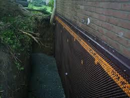 waterproof basement walls exterior