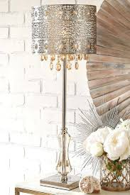 glam table lamps best crystal lamps ideas on quartz candle bohemian crystal table lamp table lamps