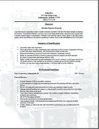 template operator machine operator resume sample u2013 foodcity me