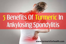 Turmeric ankylosing spondylitis