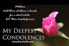 My Condolences Quotes Condolencesmessagesondeathofmother Easyday 13