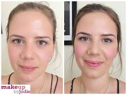 blush before and after. before and after elf hd blush cream review makeupbyjodie makeup p