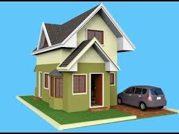 Small Picture Small House Design Attic 3D Rendered YouTube