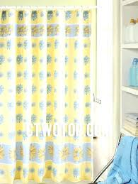 blue toile curtain panels skillful design blue and yellow shower curtain with fl yellow panel cute blue toile curtain panels