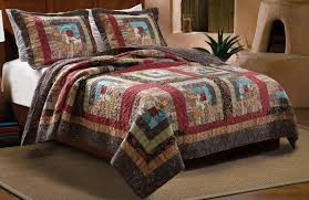 Total Fab Americana Primitive Rustic U0026 Country Star Quilts And Country Style King Size Comforter Sets
