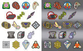 Free-To-Use Custom Pokemon Gym Badges by icycatelf | Pokemon gym badges,  Gym badges, Pokemon badges