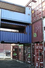 Shipping container office building Residential Press And Videos Demo And Construction Video Construction Timelapse Video Building An Office Of Shipping Containers Designboom The Box Office