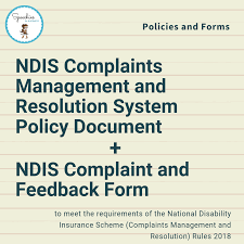 For children who are disabled and are age 6 or younger, ndis services are coordinated by an early childhood early intervention partner (ncei). Ndis Complaints Management And Resolution System Policy Document And Complaint And Feedback Form Banter Speech Language