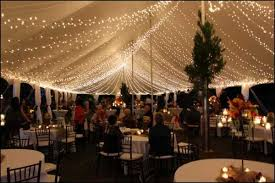 they come in all shapes and sizes so they are appropriate for any type of party tent lighting