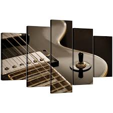 display gallery item 4 five part set of living room black white canvas wall art display gallery item 5 on guitar canvas wall art red with extra large guitar canvas prints uk 5 piece in black white