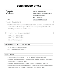 Good Resume Example Inspiration Good Sample Resume Format Sample Good Resume Format Examples Of