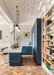 Parquet Flooring Kitchen Bespoke Kitchen Parquet Flooring Breakfast Bar Barstool