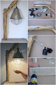 Idlights Diy How To Make A Driftwood Table Lamp Bedroomdecor