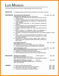 20 Objective For Teacher Resume Takethisjoborshoveit Com
