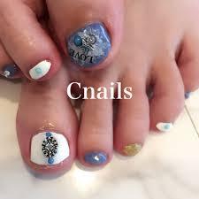 夏フットエスニックネイティブボヘミアン Cnailsのネイルデザイン