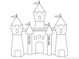 Small Picture Castle Coloring Pages Castle Colouring Pages Images 18745 Candy