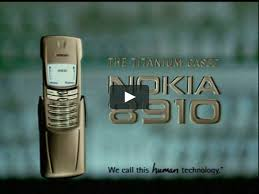 Nokia 8910 Titanium case commercial ...