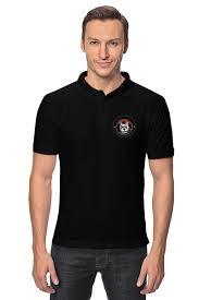 """Рубашка Поло """"Пёс с сигарой"""" #2139264 от nadegda - <b>Printio</b>"""