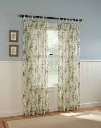 Sheer Bedroom Curtains Gardendale Floral Semi Sheer Curtain Panel Curtainworkscom