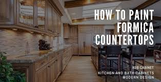how to paint formica countertops step