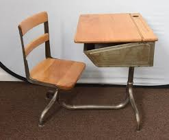 child s school desk with attached chair for at 1stdibs with regard to attractive property child school desk ideas