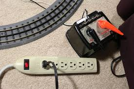 toy train layout wiring basic mth realtrax dogbone 1033 and plug strip