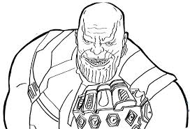 Top 4 Thanos Coloring Pages For Fans Dc Coloring Pages