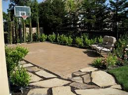backyard ideas basketball court. custom landscape ds residence traditionallandscape backyard ideas basketball court m