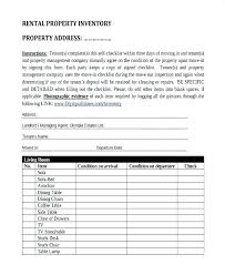 Property Inventory Template Free Download To Property Inventory Template Free Download For Furnished Rental