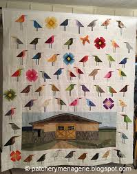 The Patchery Menagerie: The Colorado Quilt Flimsy is Complete! & I finished sewing the bird blocks together and finished the Colorado Quilt  flimsy. Adamdwight.com