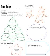 Christmas Tree Template A Free Paper Craft Project From Th