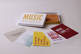 Music Quote Cards Rachel Graphic Design Mesmerizing Quote Cards