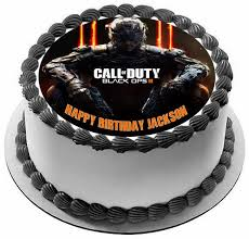 Call of Duty Ops 3 Edible Cake & Cupcake Toppers – Edible Prints