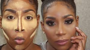 flawless foundation routine for dark skin woc highlight contour 2017