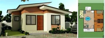 bungalow house floor plan philippines inspirational 11 new simple house design with floor plan in the