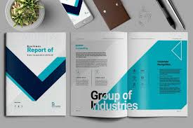 Company Brochure Example How To Design A Brochure Design Shack