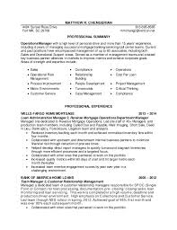 Banking Loan Resume Amazing Matt Chengerian Resume 44