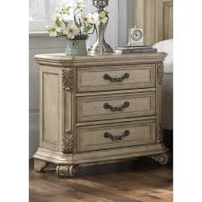 Messina Estates IIAntique Ivory 3-drawer Nightstand - Free Shipping Today -  Overstock.com - 16805734