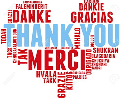 Word Thank You International Thank You Word Cloud Each Word Used In This Word