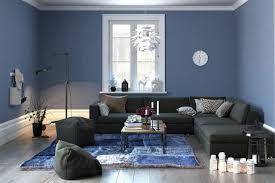 Pareti Azzurro Grigio : Significato dei colori voce alle pareti del soggiorno