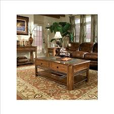 magnussen madison 3 piece accent table set in autumn brown